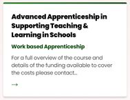 Work based apprenticeship. Eastleigh College