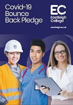 Covid-19 bounce back pledge. Eastleigh College