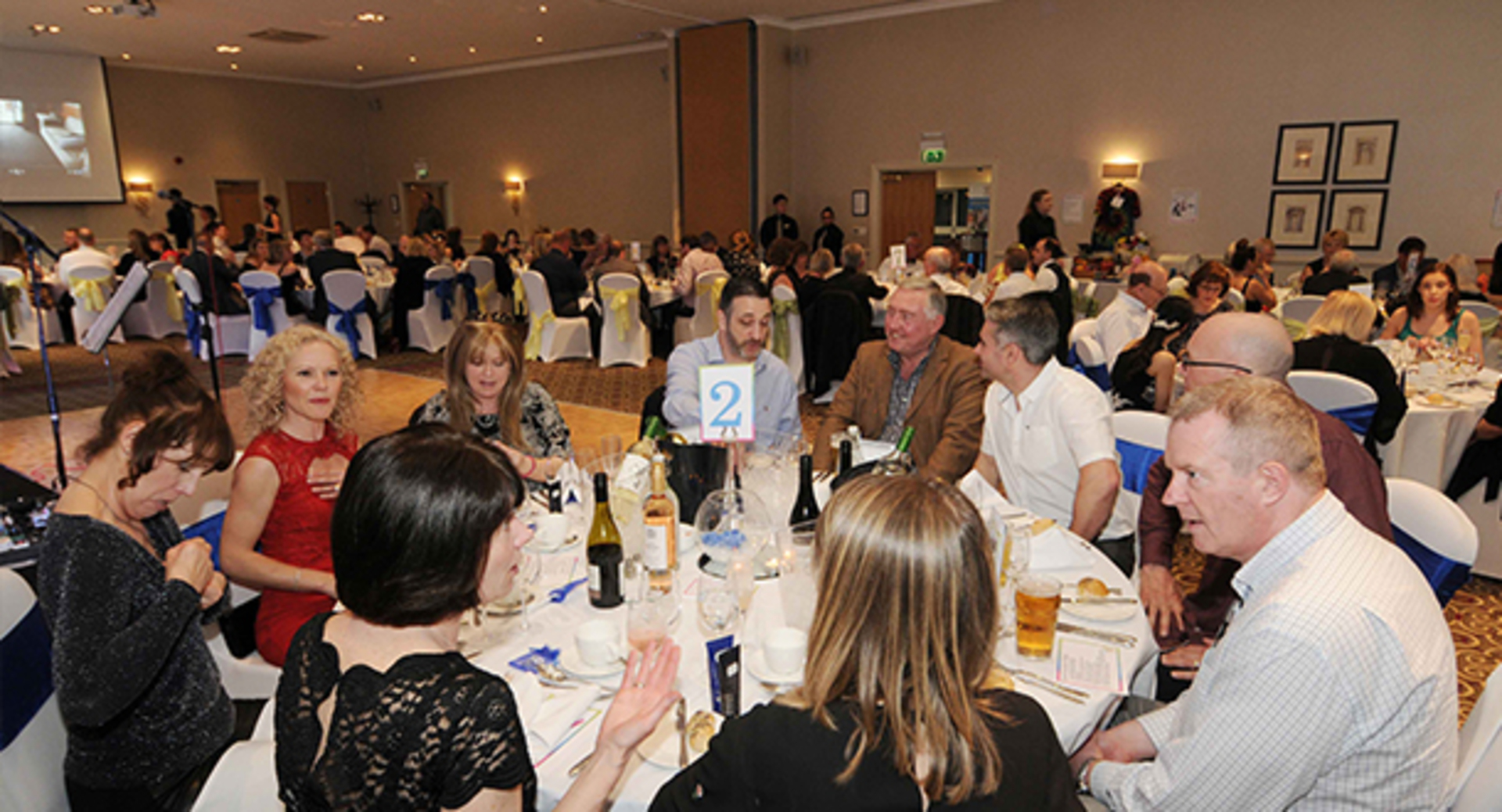 Students organise and run successful charity dinner