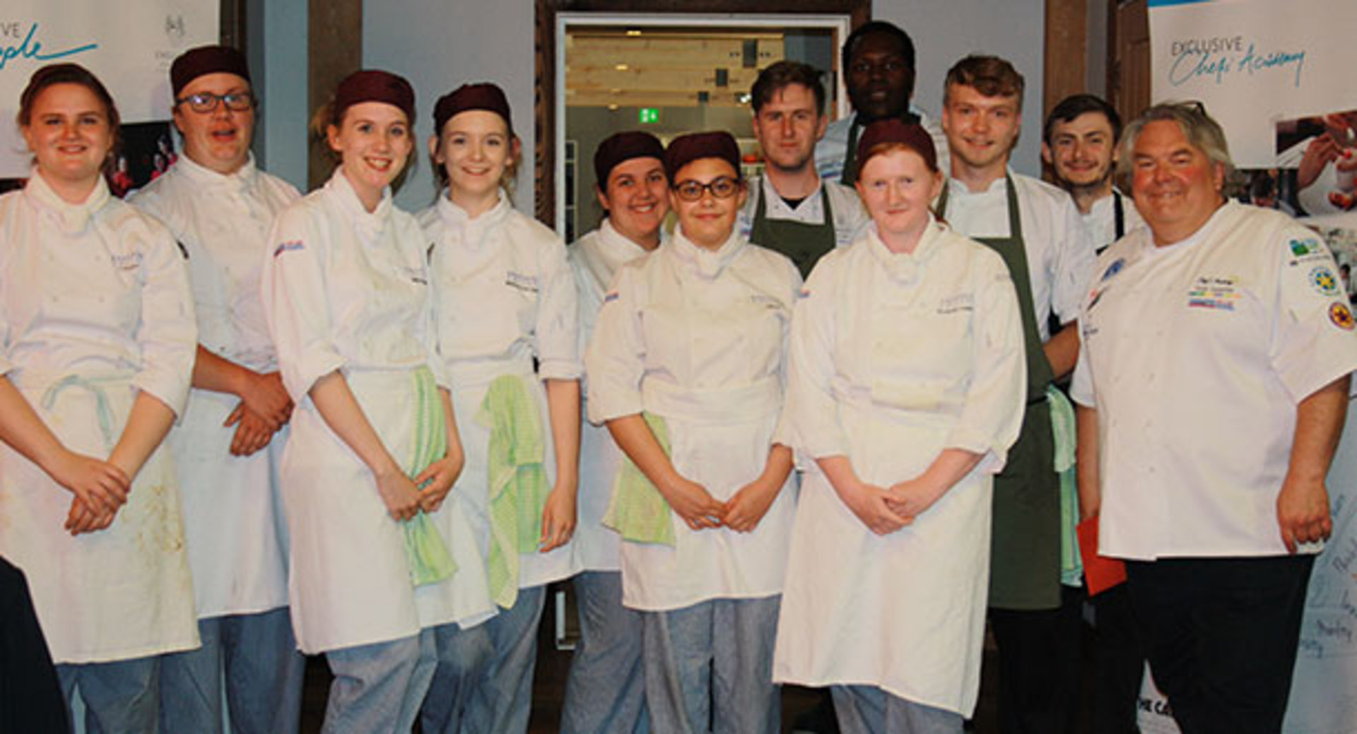 Students join renowned Chef at Lainston House to Celebrate their end of year