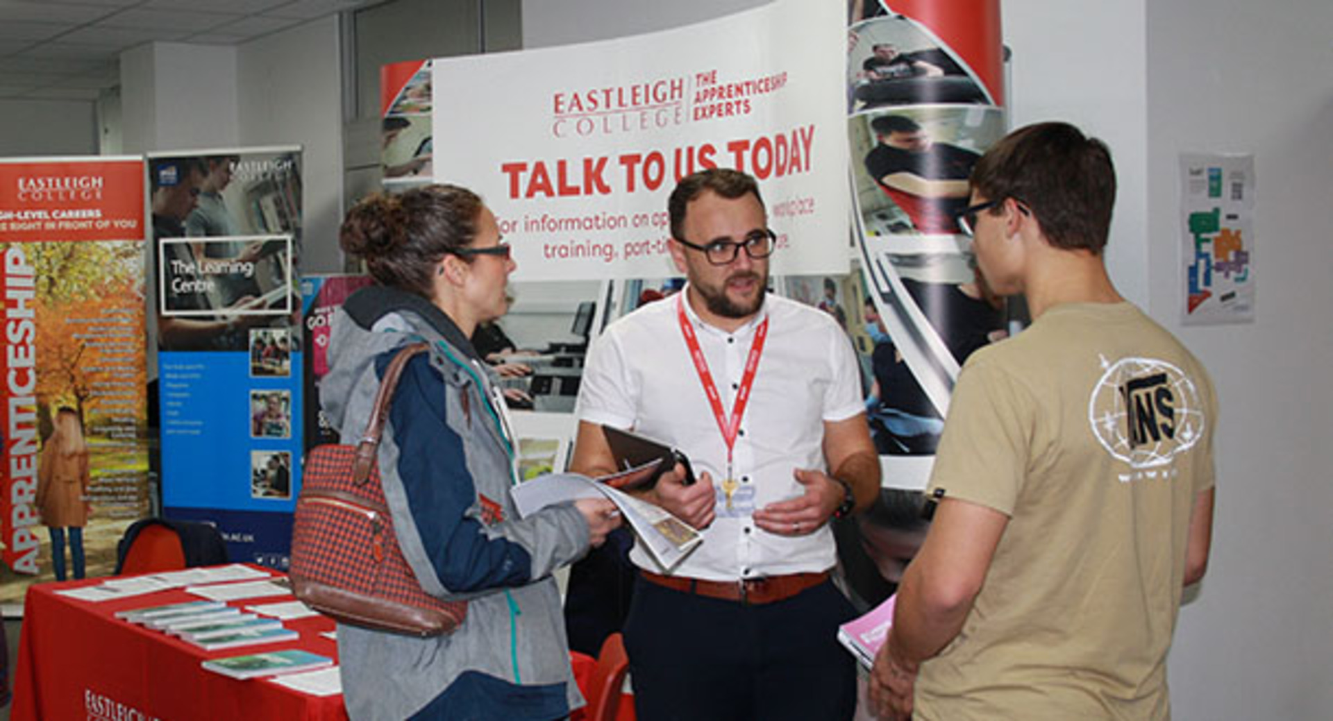 Another Open Event success for Eastleigh College