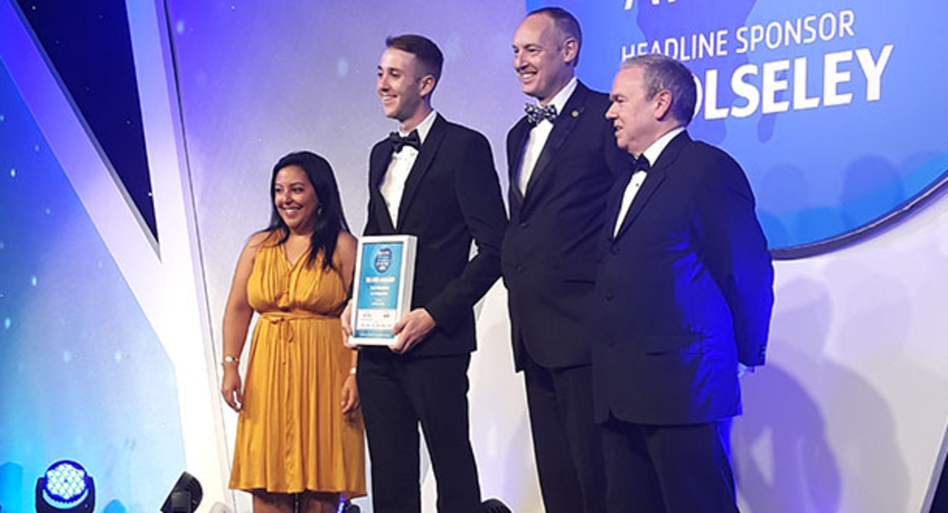 Students celebrate success at prestigious Industry Awards