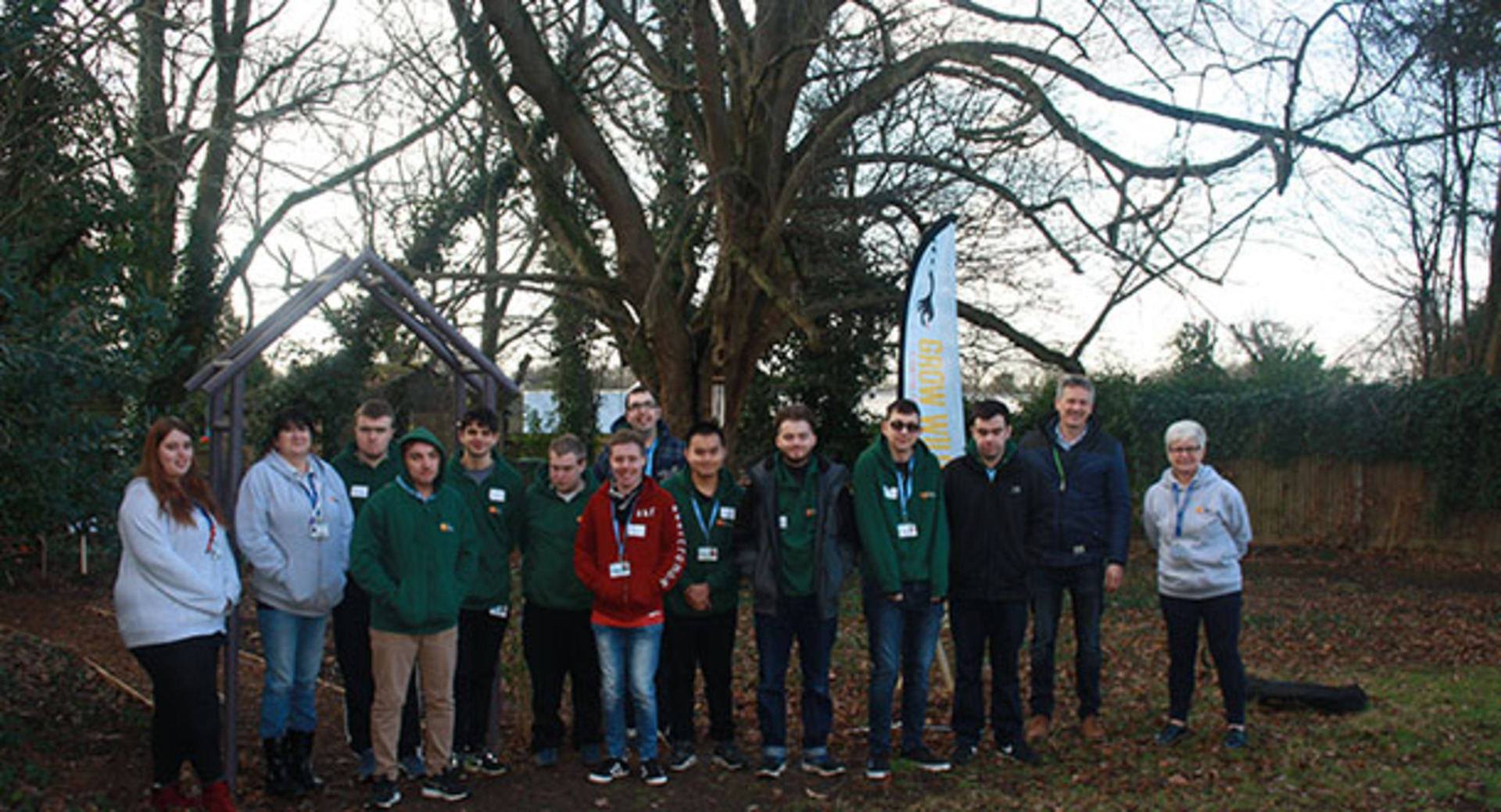 Eastleigh College's The Hive collaborate with Kew Gardens on Grow Wild Project