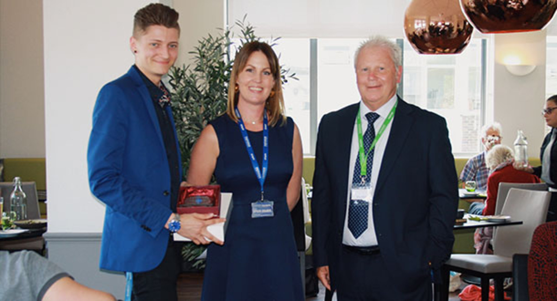 Eastleigh College 'Young Entrepreneur of the Year Award!'