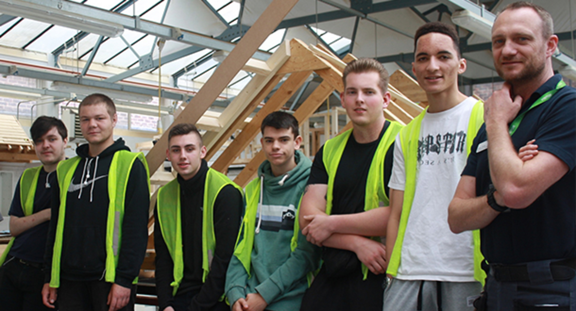 Carpentry students nail it for local charity