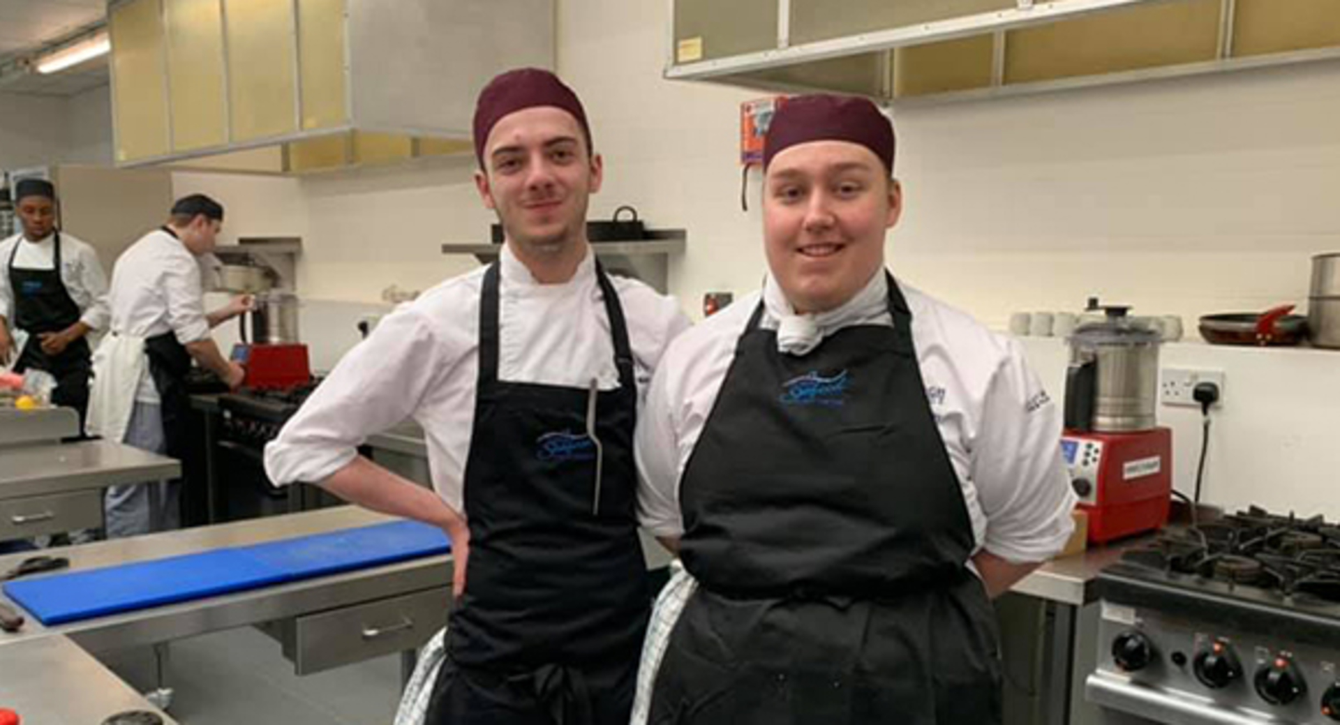 Catering students scoop place in prestigious national competition