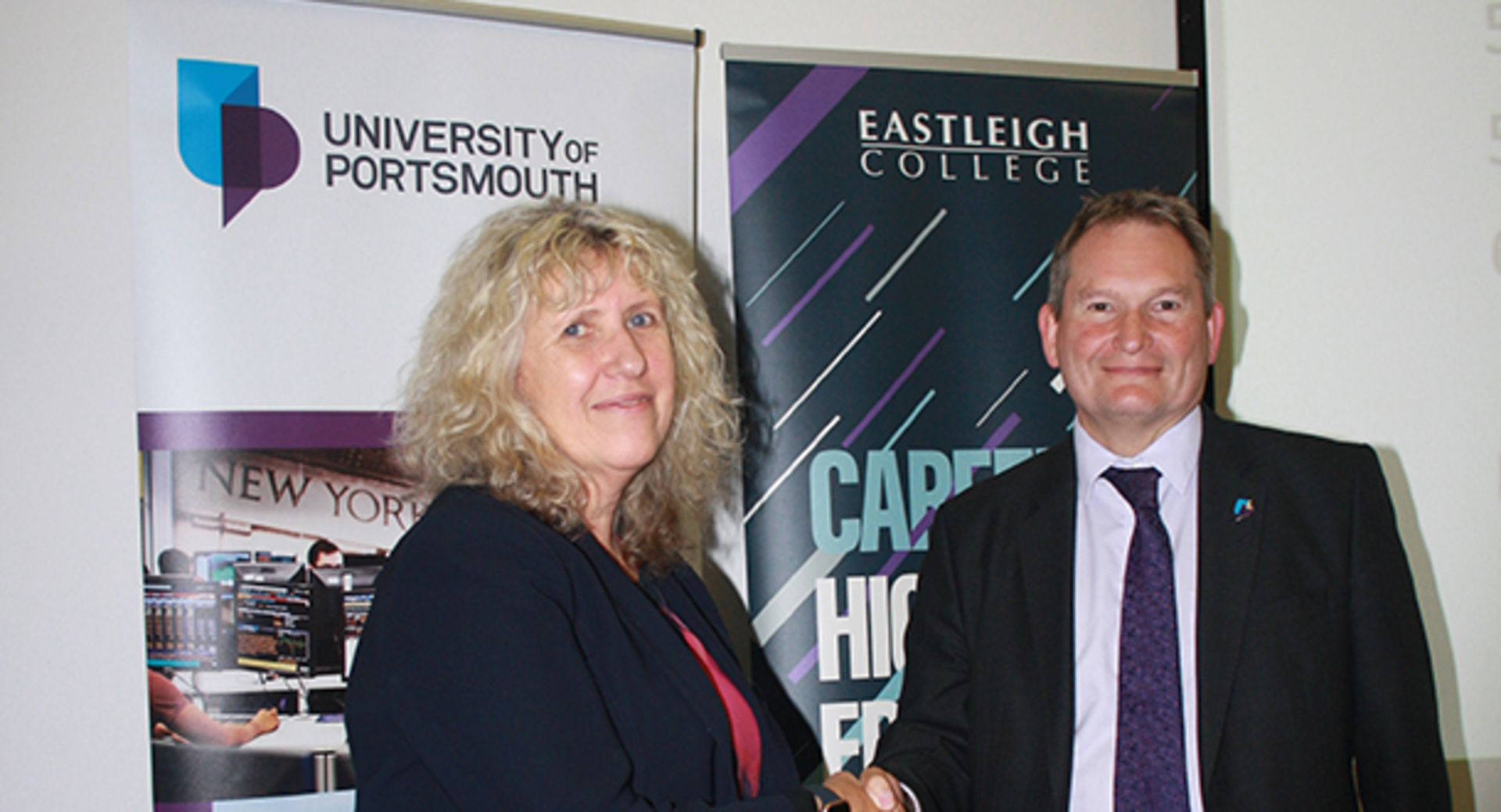 Eastleigh College students reap benefits of university partnership