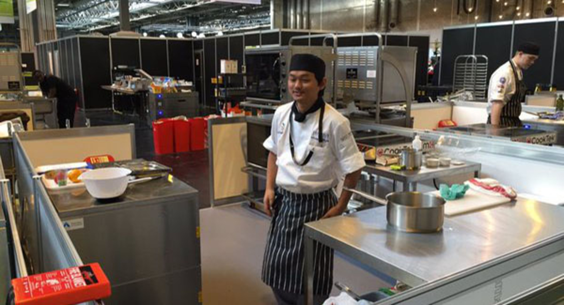 WorldSkills success for Catering student Ashesh