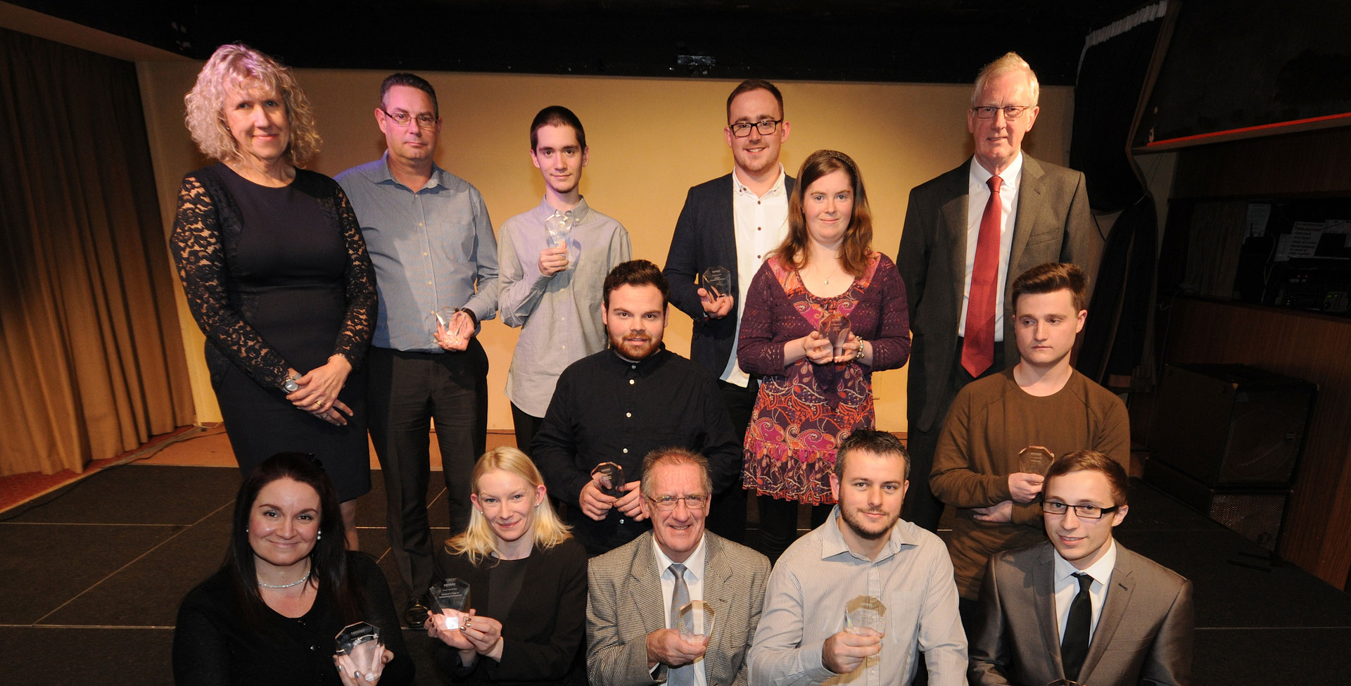 Students and staff celebrate at Annual Awards evening
