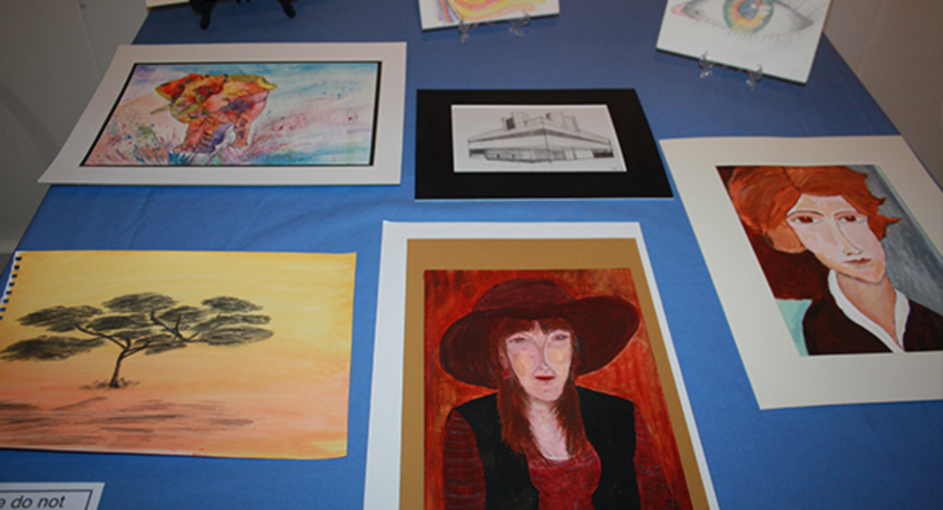 Adult learners showcase artistic efforts!