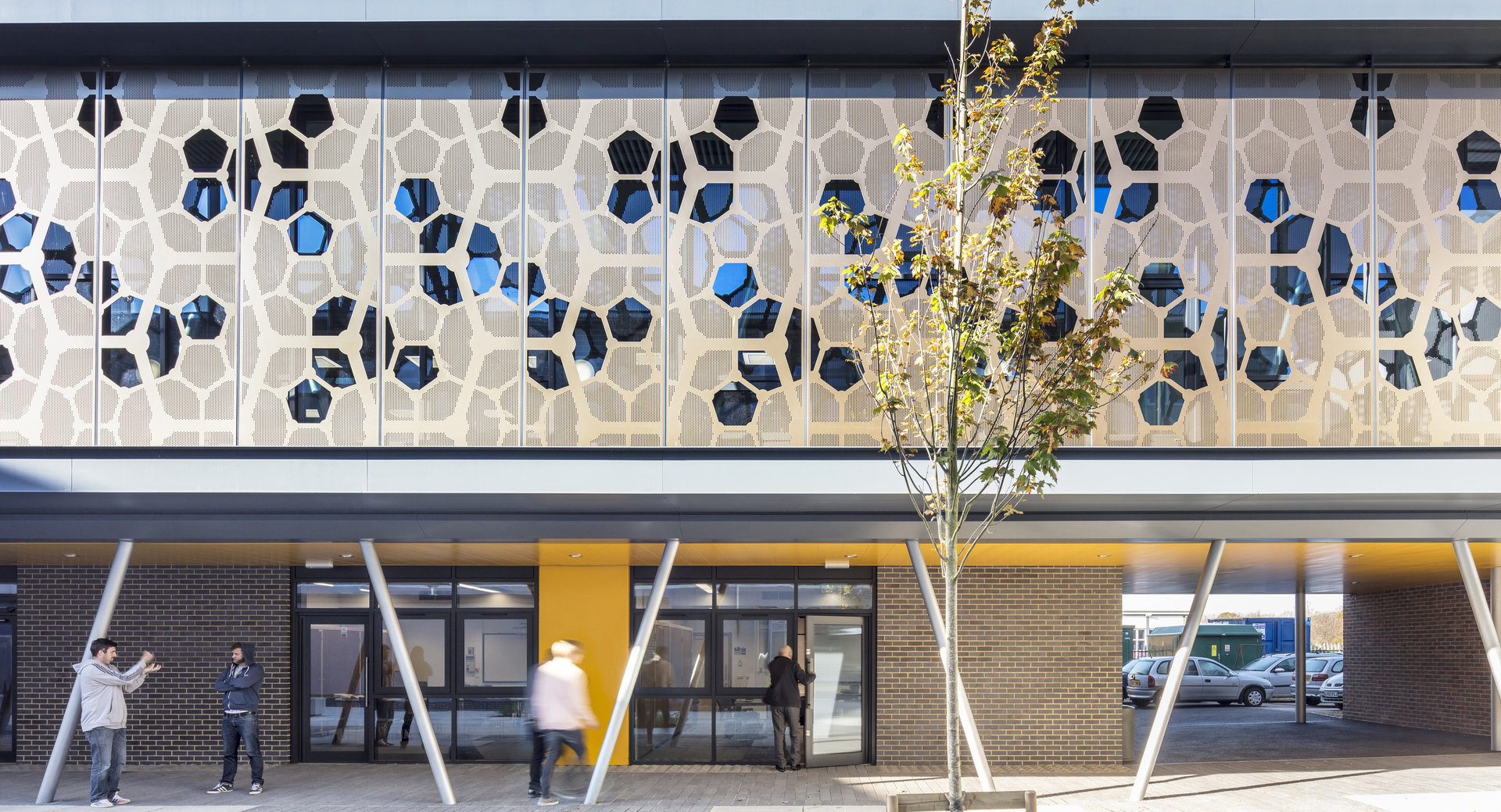 Campus buildings shortlisted for prestigious award