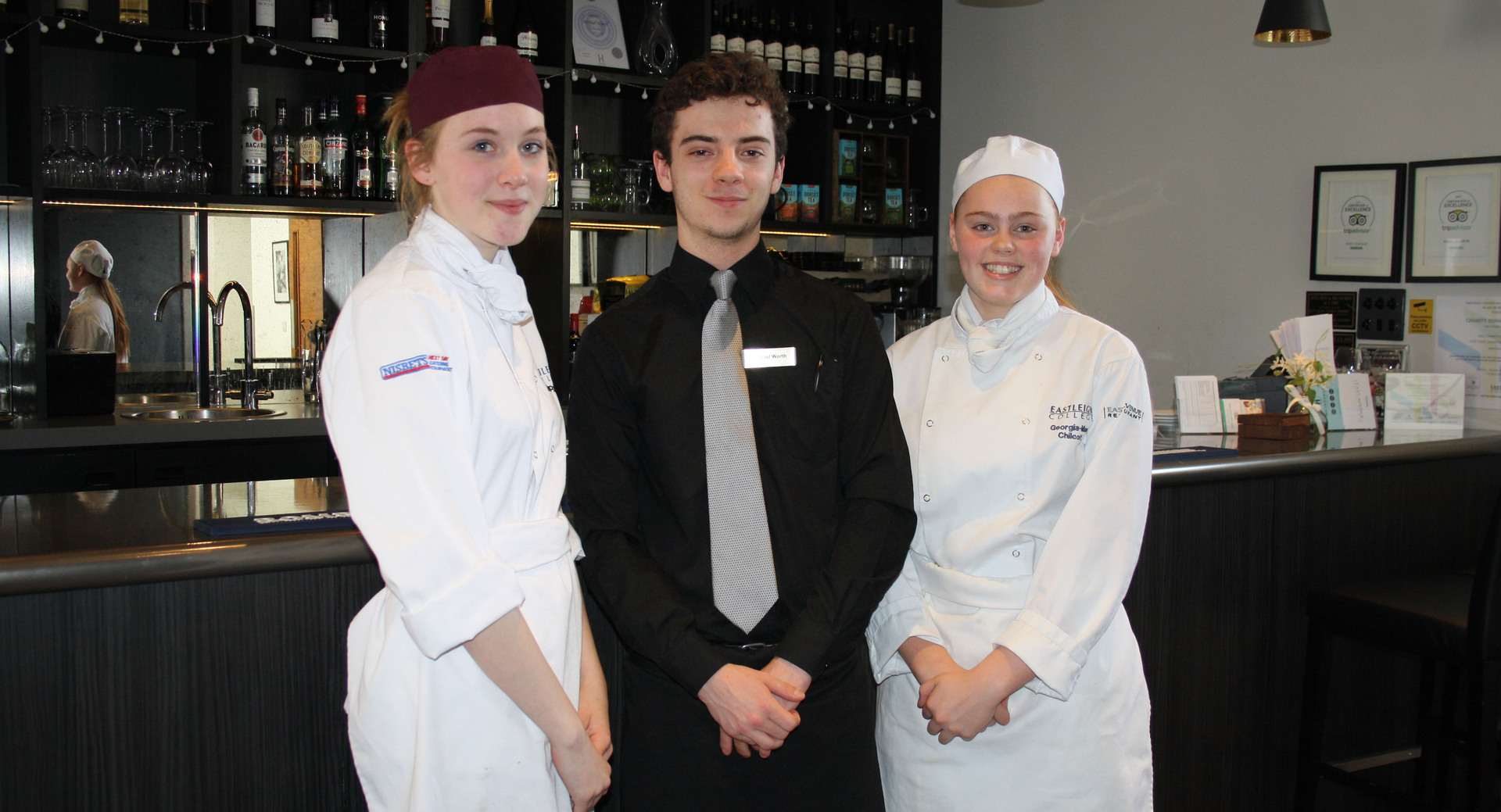 Students in the running for Young Restaurant Team of the Year