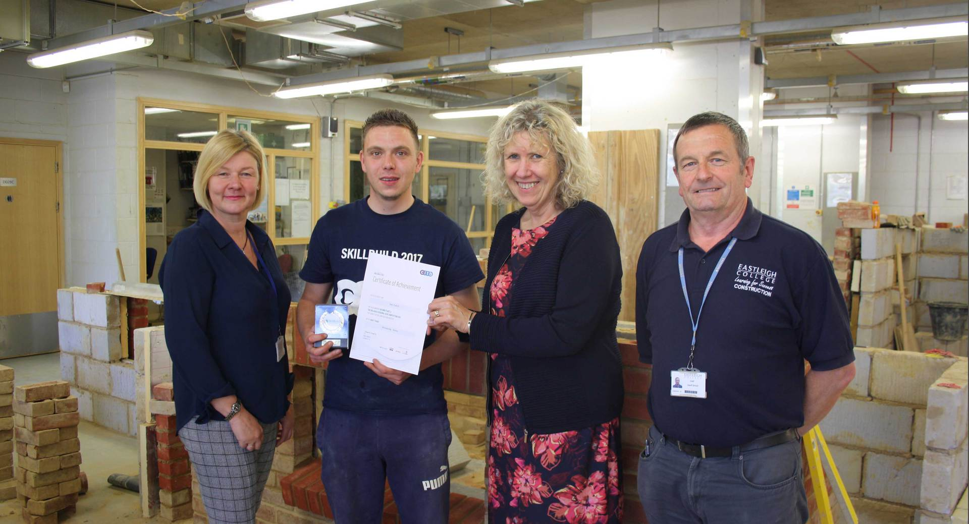 Students trade materials for medals in regional SkillBuild competition