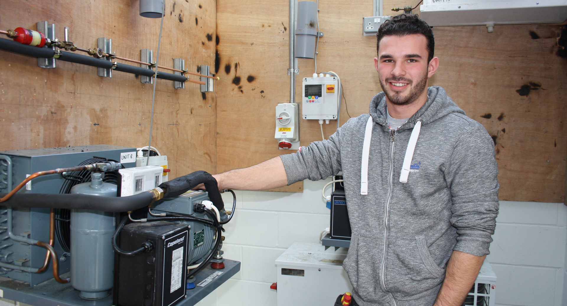 Refrigeration and Air Conditioning student recognised at ACR Trainee of the Year Awards
