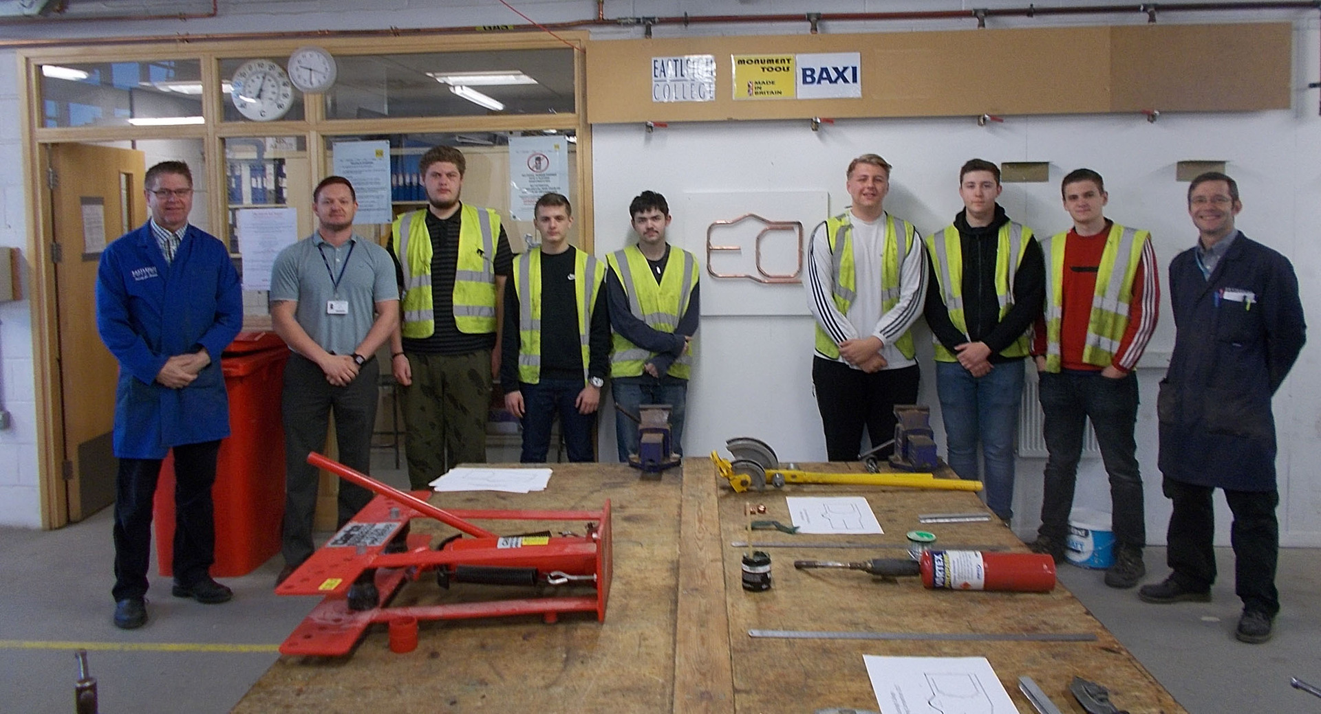 Students compete to win hundreds of pounds of specialist tools!
