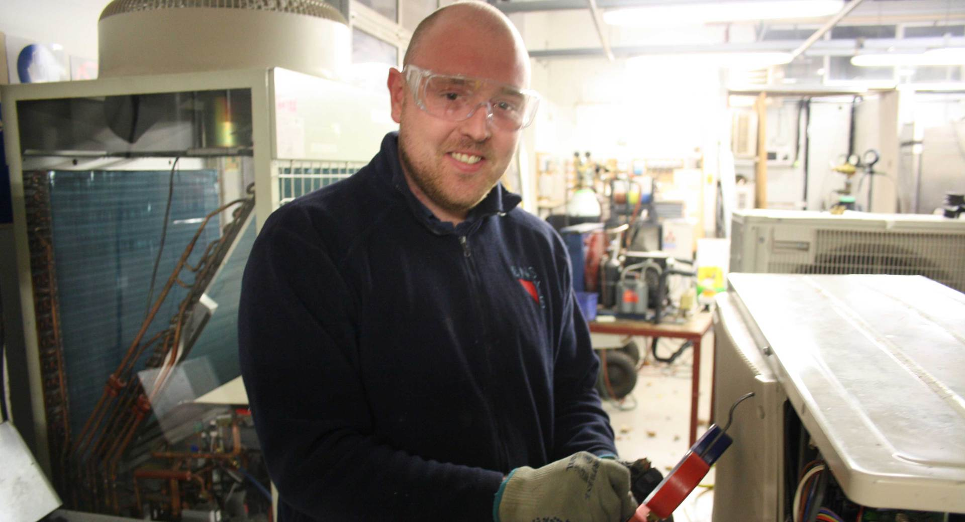 Air Conditioning student named finalist for ACR Trainee of the Year Award