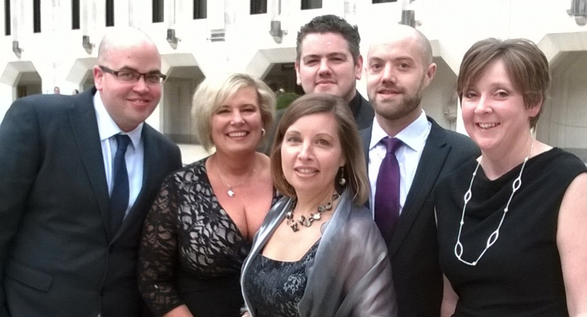 Catering lecturers proud to attend teaching awards finale