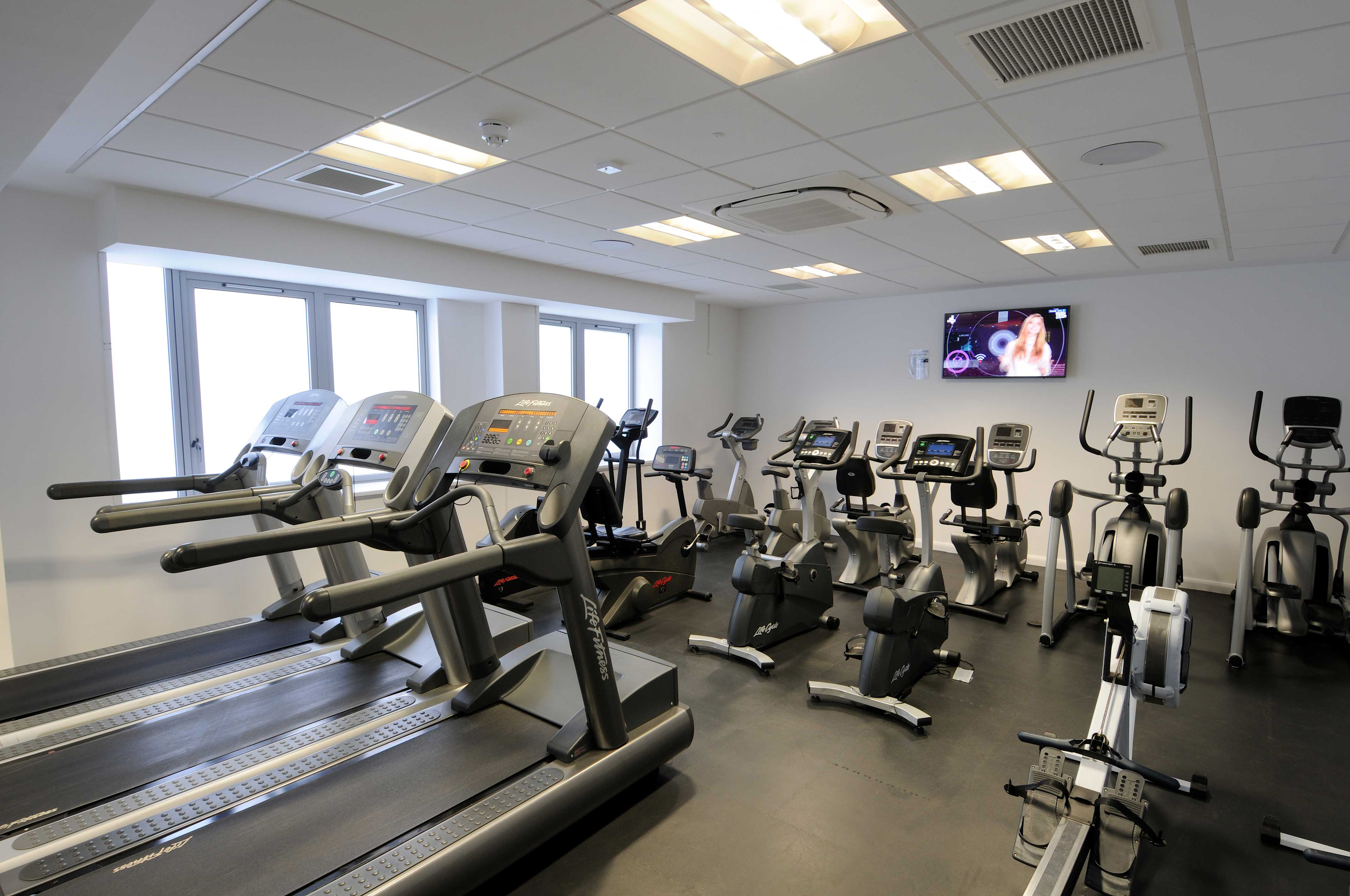 Gym and fitness studio · eastleigh college