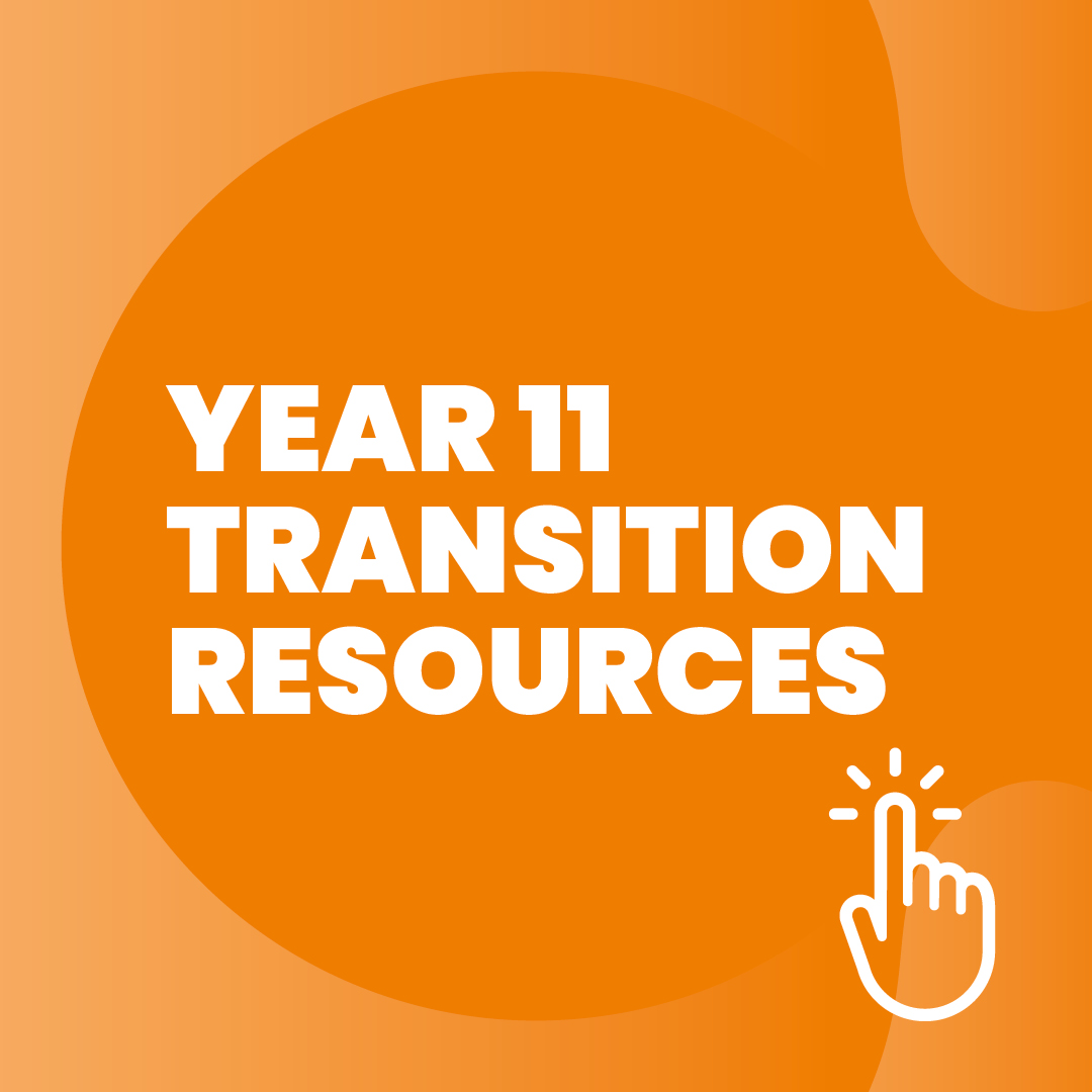 Prepare for your transition to College with these resources